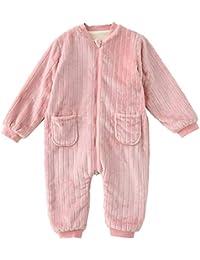 2ff6bf1e0c OPPP Pijamas de niños Siamés Pijamas Invierno Infantil Grueso Coral Polar  Servicio a Domicilio bebé otoño