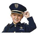Dress Up America H226-K Pretend Police Hat for Kids/Adults Play Polizei Hut für Erwachsene, Einheitsgröße