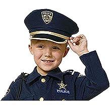 Cappello da poliziotto bimbo. Dress Up America Fai finta di giocare a  Polizia Hat for bambini 16681619257c