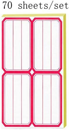 Liu Liu Liu Yu·Bureau, Entreprise École Fournitures de magasin Étiquettes rouges Catégories Marques Notes 70 feuilles / jeu   Sale  92d784