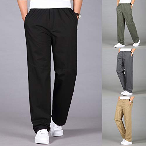 Zoom IMG-3 feibeauty pantaloni slim fit in