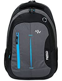 PAZZO Polo 28 Litre Casual Backpack - College|School Bag with 1 Year Warranty