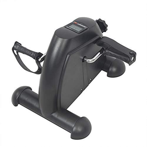 Guoyajf pedale ginnico - pedali per esercizi stazionari - mini cyclette portatile a basso impatto per sotto la scrivania - durevole gamba e braccio esercitatore medico di recupero