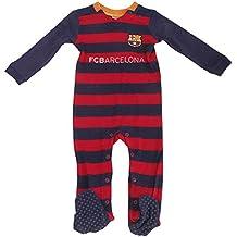 Barcelona FC (2015 16) - Pijama de fútbol para bebé (Varios tamaños 190e91c0ca347
