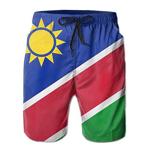 Namibia Flagge Sun Quick Dry Spitze Boardshort Strand Shorts Hosen Badehose Beste Jungen Badeanzug Mit Taschen M (Kinder Tmnt Als)