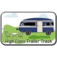 Cartel de metal de aluminio WenNuNa de alta clase para remolque o camping de furgoneta o furgoneta, 20 x 30 cm