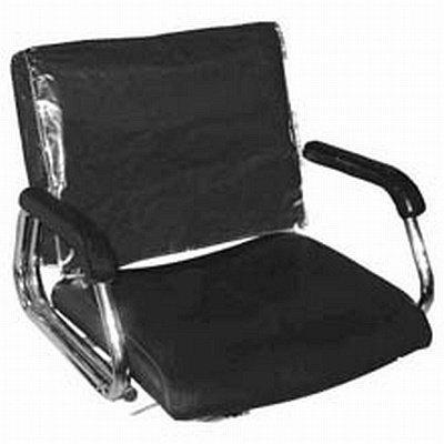 Betty Dain Housse transparente - Uniquement pour dossier de chaise carrée
