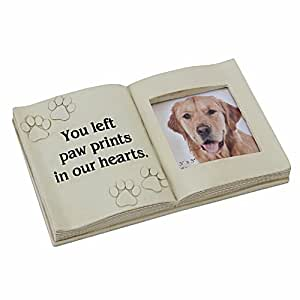 In Loving Memory Graveside Grave Memorial Gift Ornament Photo Frame Book Dog