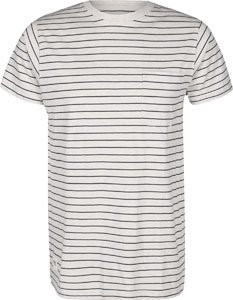 Wemoto Blake Stripe T-Shirt sand-melan