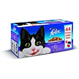 Felix Mixed Selection in Jelly Jumbo Pack Wet Cat Food Pouch 44 x 100gram