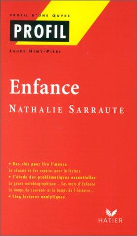Enfance, Sarraute
