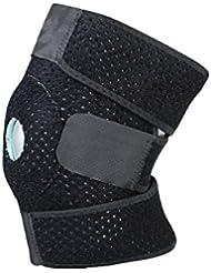 Genouillère rotulienne en néoprène - Souple et respirante - Modèle universel - Orthèse pour genou, idéal pour crossfit, volley, basket, foot, football, sport