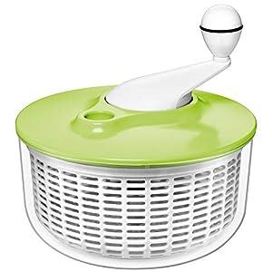 Silit Salatschleuder, Kunststoff, spülmaschinengeeignet, Ø 25 cm, grün
