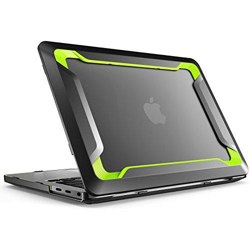 Case Pro Grün 13 Macbook (Macbook Pro 13 2016 Hülle, i-Blason [Strapazierfähig] Schmal und Gummiert [Snap on] [Doppelbeschichtet] Hülle mit TPU Bumper für das Apple Macbook pro 13 Zoll 13'' 2016 mit TouchBar und Touch ID (grün))