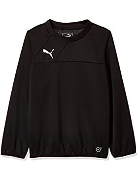 PUMA para niños-camiseta Esquadra sudadera de entrenamiento, todo el año, infantil, color Negro - negro, tamaño...