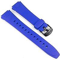 Casio Correa de Reloj Resin azul AQ-164W-2AVEF 10285466