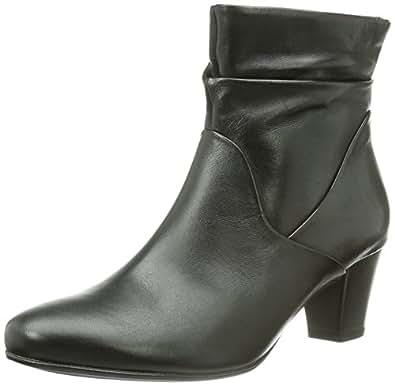 Gabor Shoes 96.583.67 Damen Kurzschaft Stiefel, Schwarz (schwarz (Micro)), 37 EU (4 Damen UK)