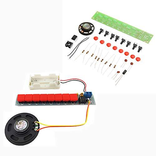 LaDicha Fai Da Te Ne555 Componenti Elettronici Kit Kit Modulo Organo Piano Elettrico