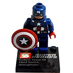 CAPTAIN AMERICA - WINTER SOLDIER - INSPIRATED LEGO