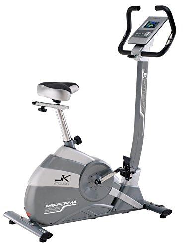 JK Fitness Performa JK255 Cyclette  Elettromagnetica, Grigio/Argento