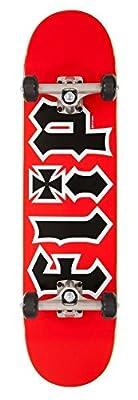 Flip HKD rot komplett Skateboard–19,7cm