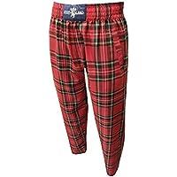 para Hombre Royal de tartán escocés Casual Stewart/Golf Pantalones