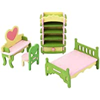 TrifyCore Mobiliario de Dormitorio Conjuntos de Juguetes para niños Muebles de casa