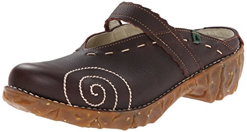 El Naturalista Yggdrasil N096 Damen Clogs & Pantoletten, braun (brown), EU 40 (Clogs Leder Pantoletten)