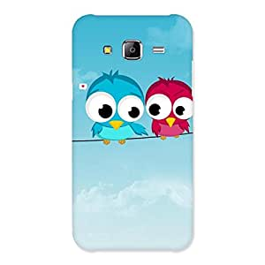 Gorgeous Birds on Wire Back Case Cover for Samsung Galaxy J5