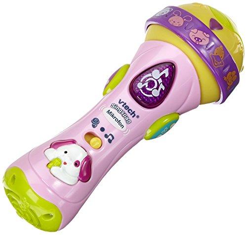VTech Baby 80-078754 - Singspaß Mikrofon pink