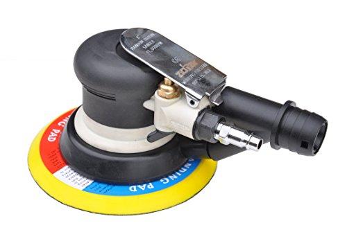 Pro-Lift-Montagetechnik Druckluft Exzenterschleifer, 11000U/min, Ø150mm, Absaugschlauch + Sack, J, 00664