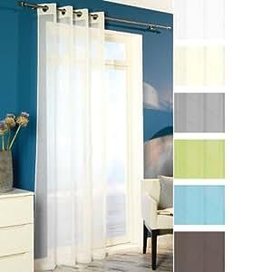 senschal dekoschal voile gardine vorhang schal transparent 8 silberfarbene. Black Bedroom Furniture Sets. Home Design Ideas