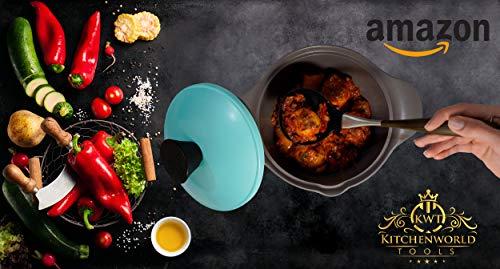 kwt 2019 küchenhelfer Set 7 teilig küchenutensilien Set utensilien Set küche zubehör küchenzubehör küche Tools Edelstahl Holz silikon besteck kochset kochutensilien kochlöffel kueche kochgeschirr - 5