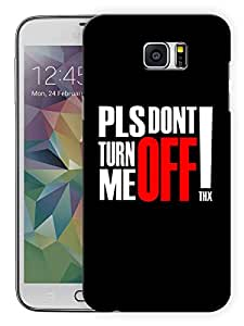 """Humor Gang Please Don'T Turn Me Off Printed Designer Mobile Back Cover For """"Samsung Galaxy Note 5"""" (3D, Matte Finish, Premium Quality, Protective Snap On Slim Hard Phone Case, Multi Color)"""