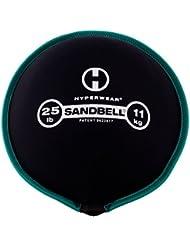 Hyperwear SandBell saco de arena Formación libre peso (precargada) 25libras
