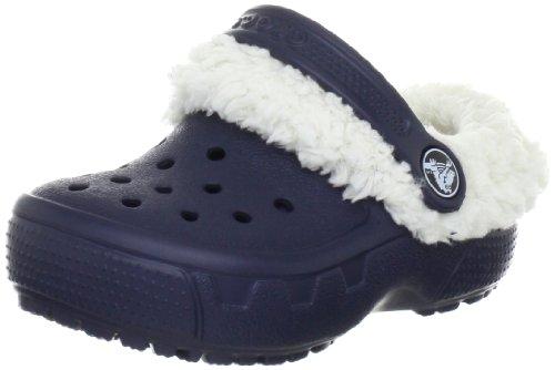 Crocs Mammoth EVO Clog Kids, Sabots mixte enfant Bleu (Navy/Oatmeal)