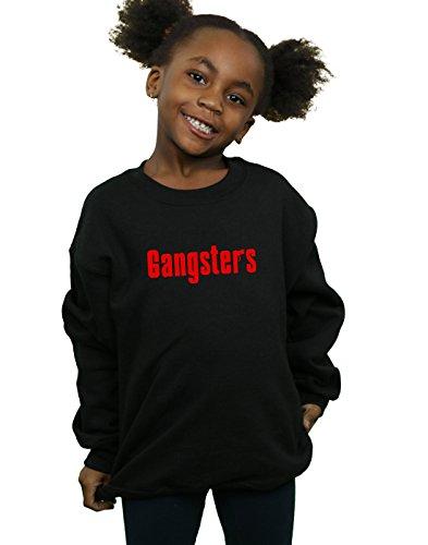 Absolute Cult Drewbacca Mädchen New Jersey Gangsters Sweatshirt Schwarz 9-11 Years - New Jersey-kinder Sweatshirt