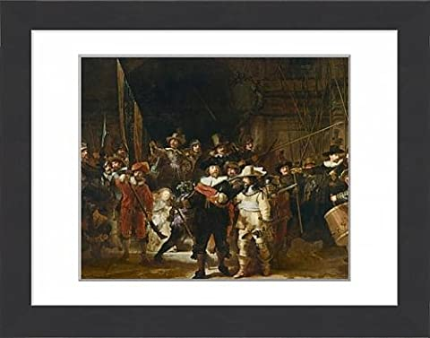 Framed Print of The Nightwatch (colour litho)