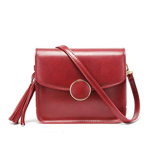 Preisvergleich Produktbild MEIDI Home Koreanische Version Trend Damen Umhängetasche Mode Einfache Flow Su Xiaofang Tasche (Color : B)