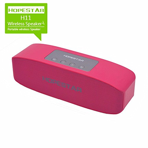 Xiaomi Redmi Note 4 Compatible Ultra Sound Certified Wireless Bluetooth Multimedia speaker Portable Pink ColorBy JOKIN