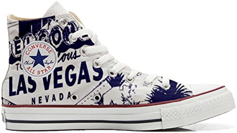 Converse All Star Zapatos Personalizados Unisex (Producto Handmade) River -