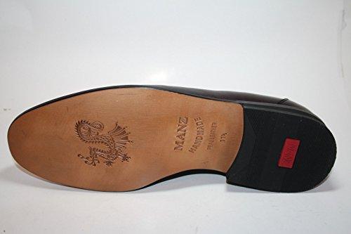 Manz 128003-02 g dublin ago, pour homme, agneau lS chaussures, bordeaux, mocassins femme Rouge - Bordo