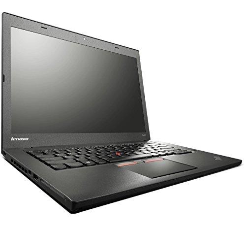 Lenovo ThinkPad T450 14 Zoll 1920×1080 Full HD Intel Core i5 256GB SSD Festplatte 8GB Speicher Win 10 Pro Webcam Bluetooth Notebook Laptop Ultrabook (Zertifiziert und Generalüberholt)
