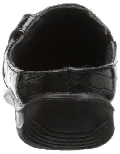 Easy Street Women's Holly Mule,Black Patent Croco,5.5 M US Black Patent Croco