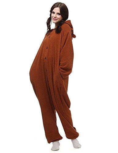 Sarahbridal Unisex Adult Tieroutfit Tierkostüme Jumpsuits Pyjama Sleepsuit Animal Cosplay Fleece Onesie (Muster Link Kostüm Cosplay)
