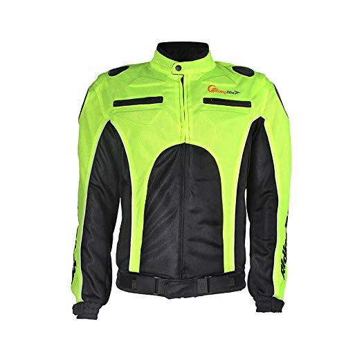 Preisvergleich Produktbild LKN Sommer Breathable Motorrad Racing Schutz Rüstung Jacke Kleidung Grün