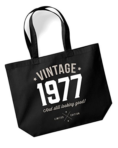 40th Birthday 1977 Tote Bag