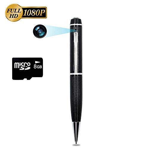 8GB Penna Spia Telecamera Nascosta 1080P HD TANGMI Spy Cam Pen...