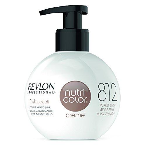 REVLON PROFESSIONAL Nutri Color Crème, Nr. 812 Pearly Beige, 1er Pack (1 x 270 ml)