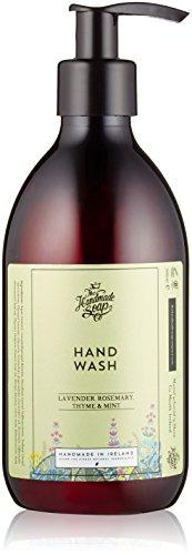 Seife Rosemary Mint (The Handmade Soap Company Lavendel, Rosmarin mint Hand Wash 300ml)